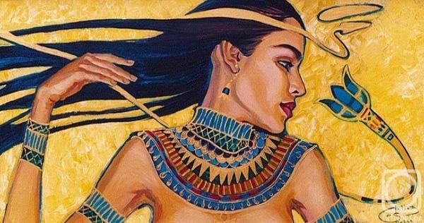 Древние рисунки женщин